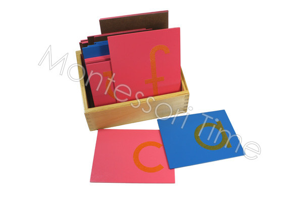Sandpaper Small Letters