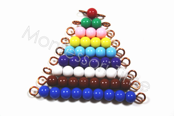Color Bead Stair 1-9