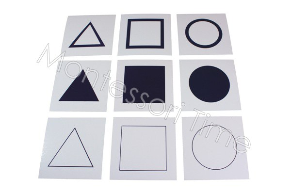 Geometric Cards for Presentation Tray