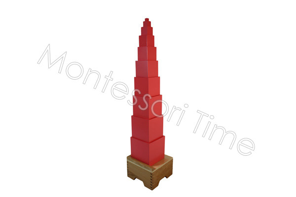 Pink Tower with Stand
