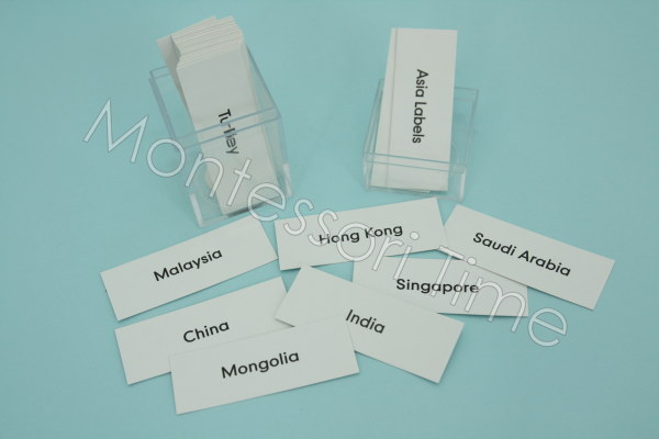 Asia Labels