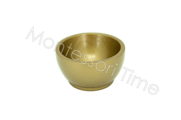 Wooden Golden Bead Cup