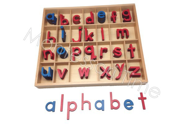 Small Movable Alphabet