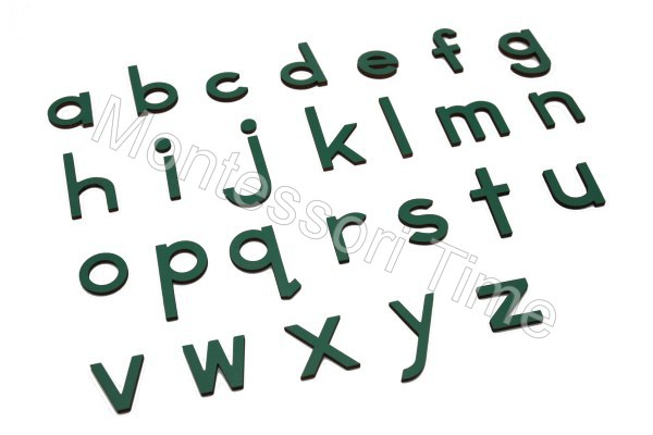 Small Movable Alphabet (Green)
