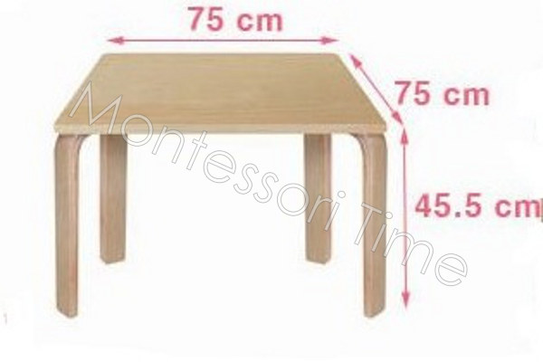 Wooden Table (45.5cm H)