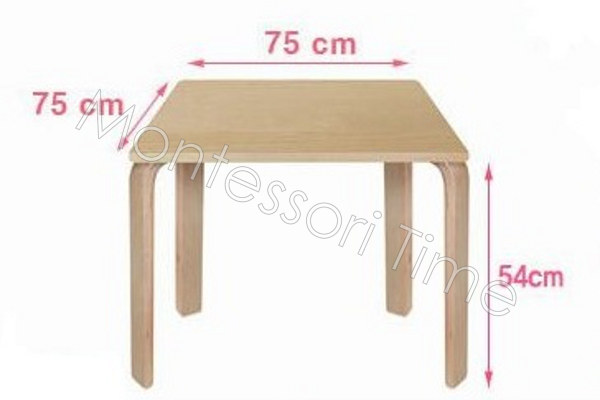 Wooden Table (54cm H)