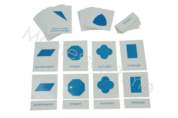 Geometric Nomenclature Cards