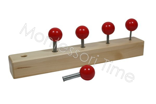 Knobbed Bolt Set